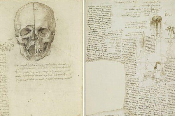 Lista de `coisas para fazer` de Da Vinci mostra que ele tinha muitas coisas na cabeça