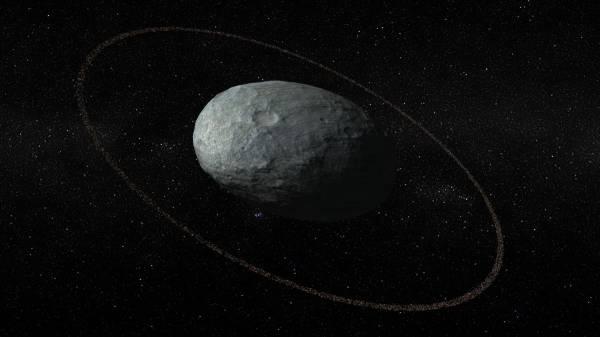 У космического «яйца» Хаумеа нашли кольцо, как у Сатурна