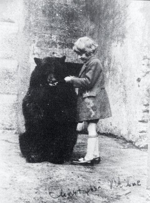 bear-ly visible.
