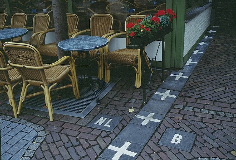 Benelux becomes aware of its borders
