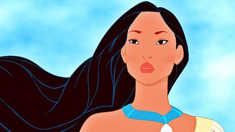 Qual a relevância de Pocahontas para a história americana?