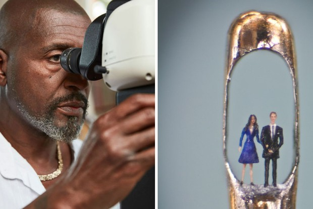 World's Tiniest Masterpieces Channel 4: Willard Wigan's incredible micro-art - Radio Times
