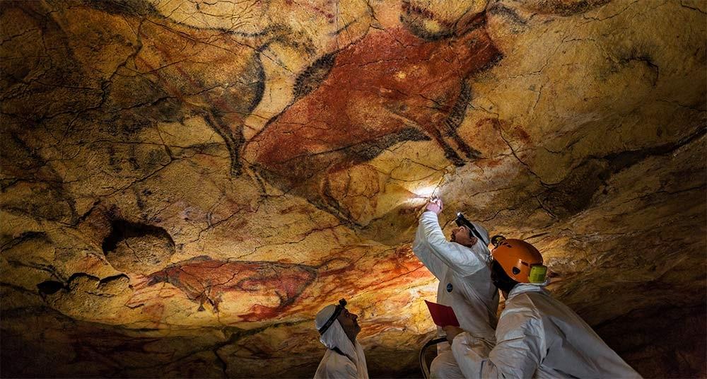 As pinturas de Altamira - arte realista em plena pré-história - Turomaquia