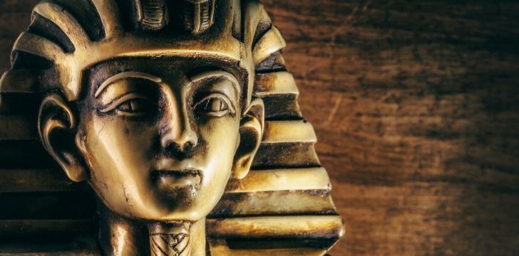 King Tutankhamen.