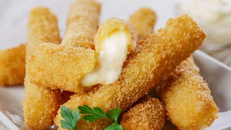 Palitos de mussarela empanados: como fazer
