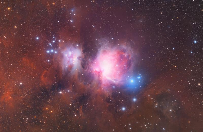 Esta imagem insana de 2,5 gigapixels da constelação de Orion levou cinco anos para ser concluída