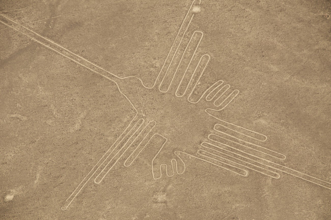 Nazca Lines bird - Shutterstock