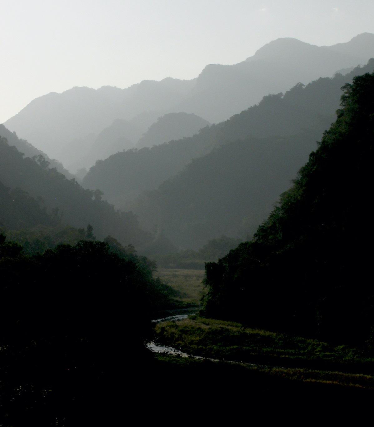 A chuva realmente pode mover montanhas
