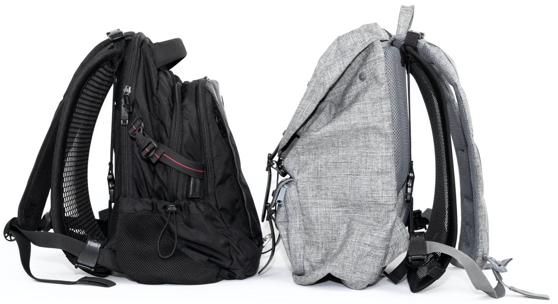 VentaPak dá aos usuários de mochila algum espaço para respirar