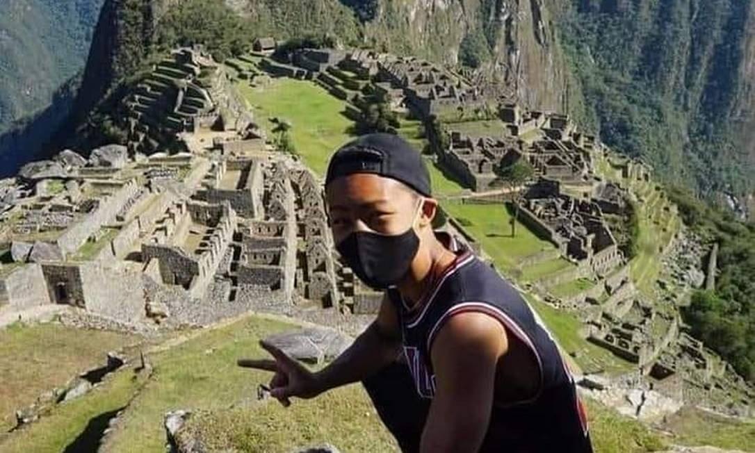 Turista japonês é o primeiro a visitar Machu Picchu após sete meses -  Jornal O Globo