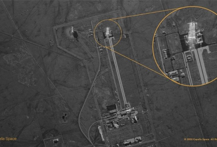 Um novo satélite pode visualizar interior de edifícios, de dia ou de noite