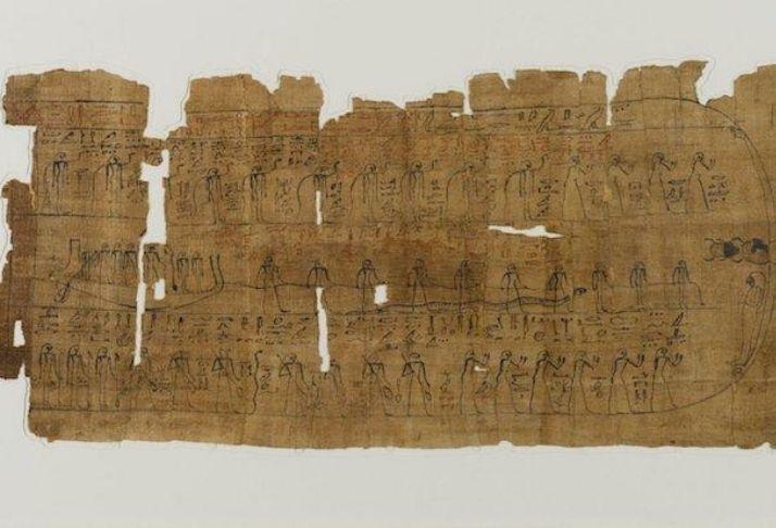"""Pergaminho de 3 metros revela mais um capítulo do """"Livro dos Mortos"""" no Egito"""