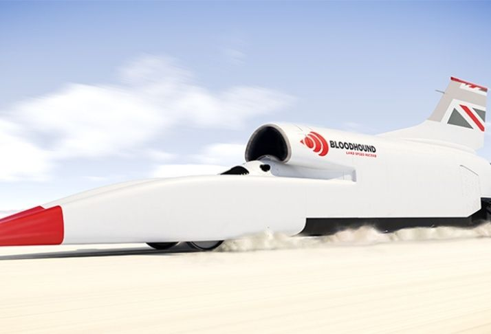 Bloodhound: O carro a jato que chega à 1287km/h
