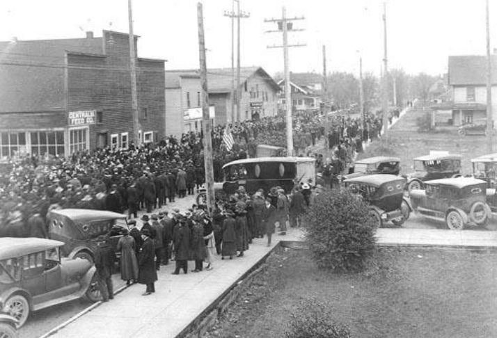 A história da tragédia de Centralia de 1919