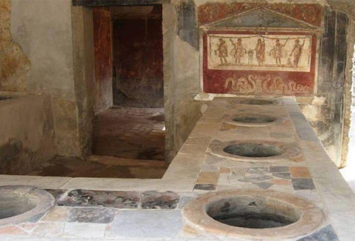 Arqueólogos descobrem fast-food em Pompéia